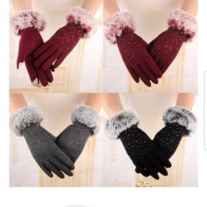Winter Warm Cashmere Gloves
